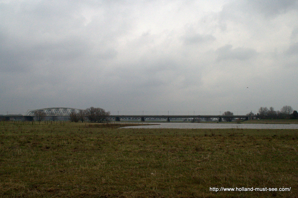 Bridge over the river IJssel