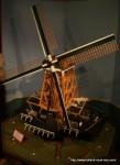 "Scale model of windmill ""De Adriaan"""